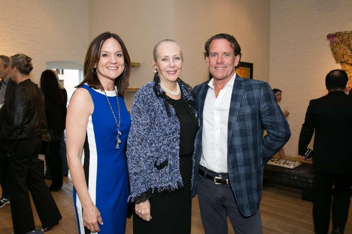 Jenn Davis of Pacific Union; Elizabeth Harrington, the North American Publisher of the Hurun Report; Mark McLaughlin, CEO of Pacific Union