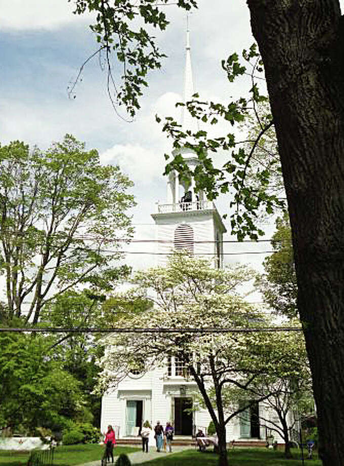 The 80th Dogwood Festival will take plce May 1-3 on the historic grounds of the Greenfield Hill Congregational Church. Photo: File Photo / Fairfield Citizen