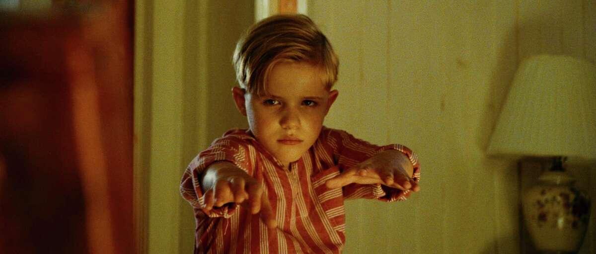 """Jakob Salvati as Pepper Flynt Busbee in """"Little Boy."""" (Photo courtesy Open Road Films/TNS)"""