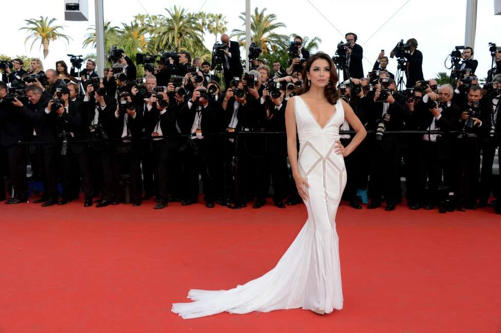 CANNES, FRANCE - MAY 17: Actress Eva Longoria attends the