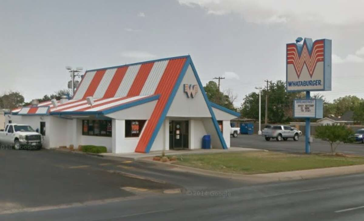 April 17, 2015: Ricardo Alvarez, Jr., 27, was arrested at this Whataburger, at 3206 N. Midkiff Rd. in Midland for driving while intoxicated. He was found asleep at the wheel in Whataburger's drive-thru.