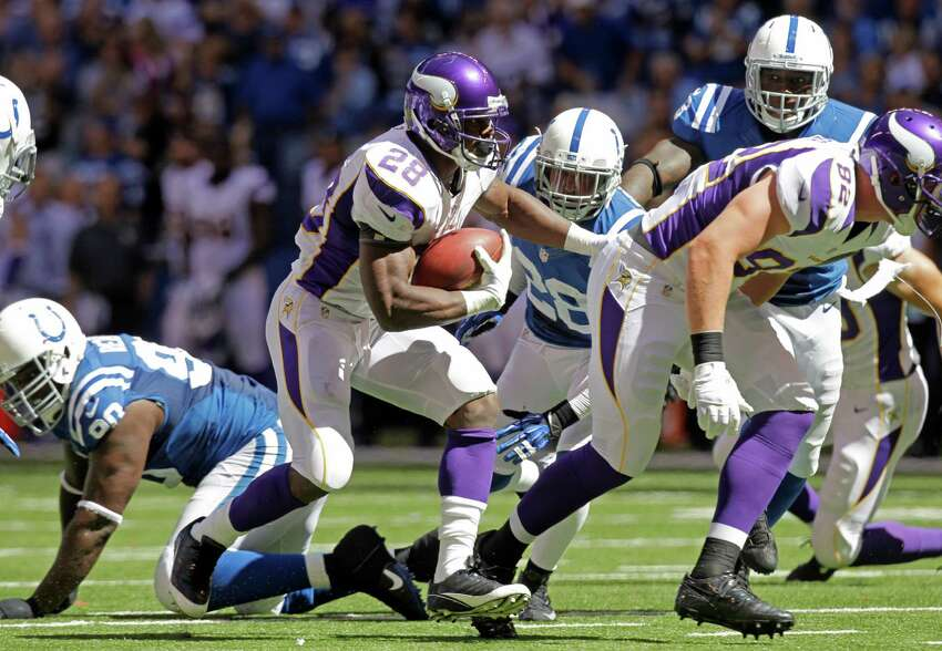 The Vikings running back and former Oklahoma standout was arrested for an altercation at a bar in Houston this past July