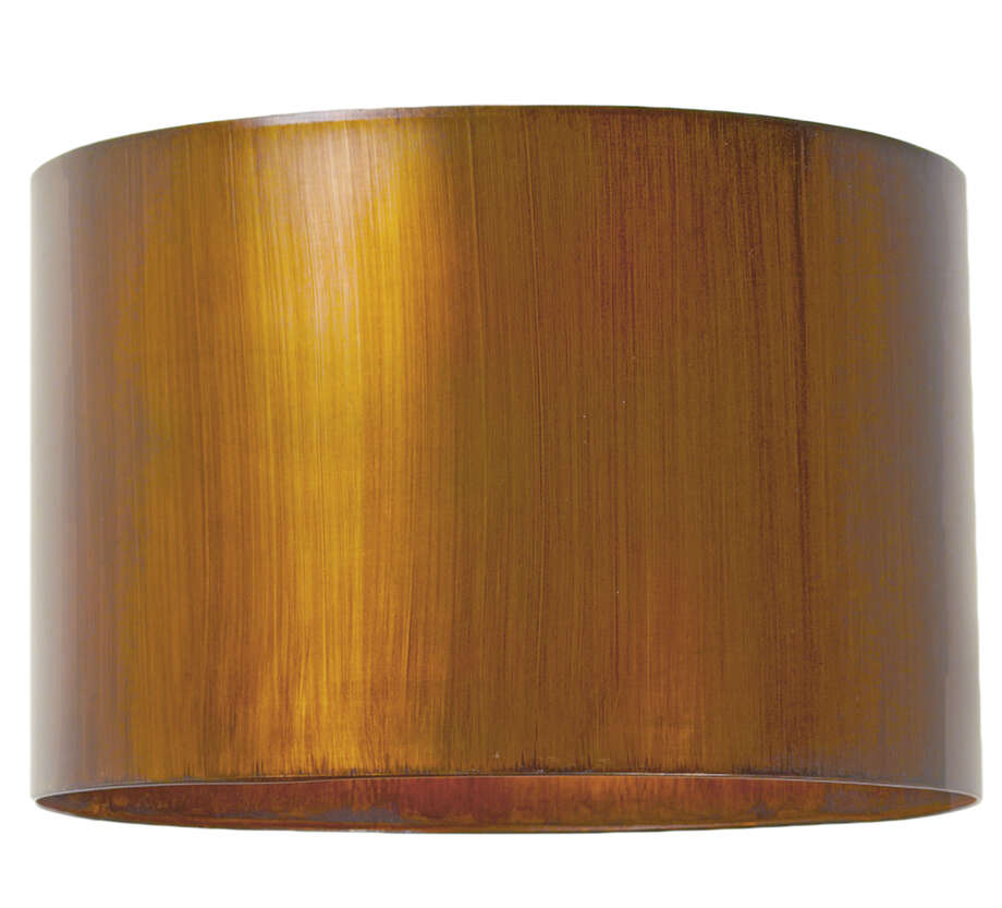 Use a modern metal shade, such as the hand-finished Metal Drum Lampshade from Shades of Light, to refresh a lamp. Illustrates DESIGN-METALLIC (category l), by Lindsey M. Roberts, special to The Washington Post. Moved Thursday, April 02, 2015. (MUST CREDIT: Shades of Light.) Photo: HANDOUT, STR / Washington Post / THE WASHINGTON POST