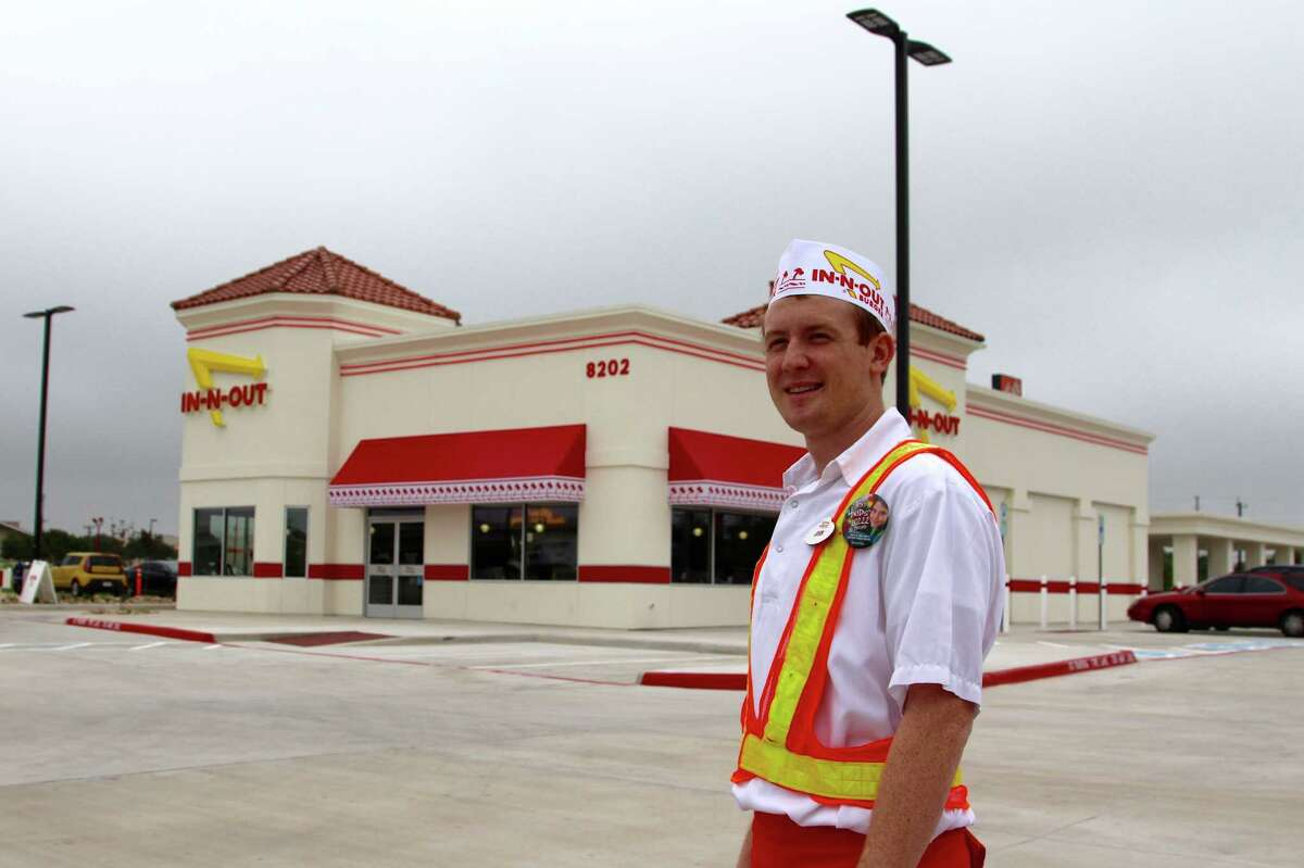 In-N-Out Burger opened the doors to its Windcrest location Thursday, April 23, 2015, making it the second to open in the San Antonio area.