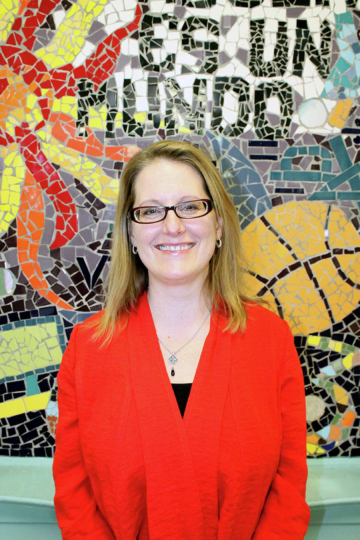 Jennifer Day, principal of Wharton Dual Language Academy.