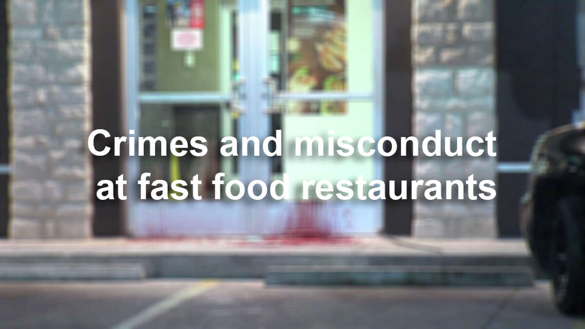 These popular fast food restaurants, often open 24-hours, sometimes make headlines in unsavory ways. Click through the following gallery for recent cases in which the cops were called.
