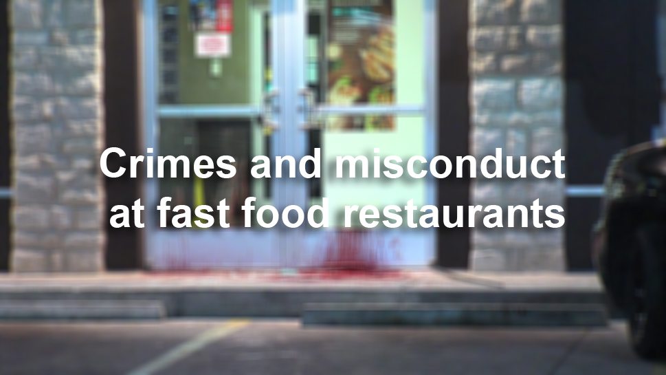 Crimes And Misconduct At Fast Food Restaurants San