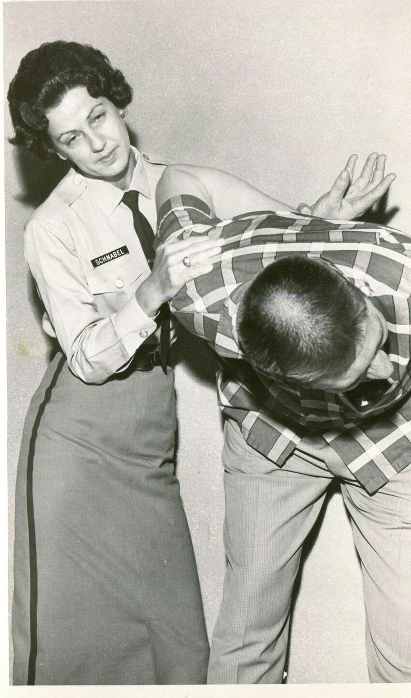 Officer Martha Schnabel was nicknamed