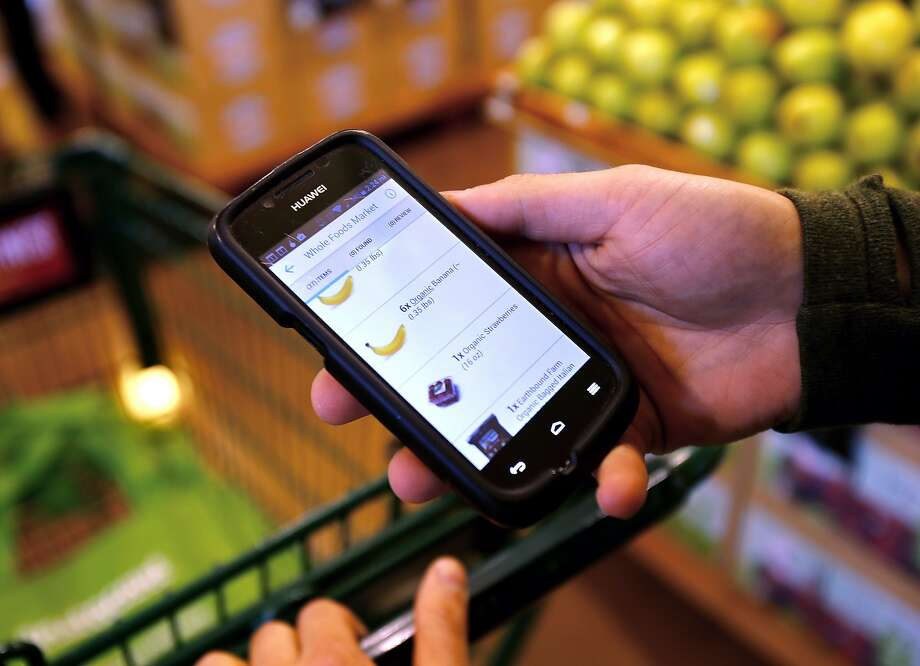 Grocery delivery service Instacart will launch its Instacart Express membership program Thursday in Midland and Odessa, according to a company press release. Instacart Express offers unlimited same-day, one-hour grocery deliveries on orders of $35 or more.  Photo: Brant Ward, The Chronicle