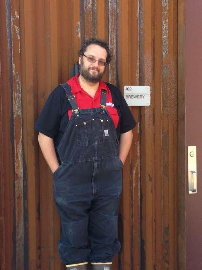 James Hudec, Brewmaster at Alamo Beer Company Photo: Courtesy Photo / Courtesy Photo