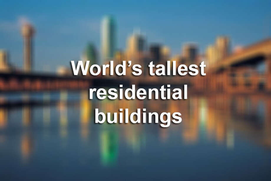 Click through the gallery to see some of the tallest residential buildings in the world.