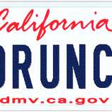 Too rude for the road: DMV cleans up vanity plates - SFGate