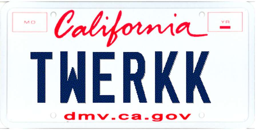 Too Rude For The Road Dmv Cleans Up Vanity Plates Sfgate