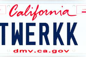 Too rude for the road: DMV cleans up vanity plates - Photo