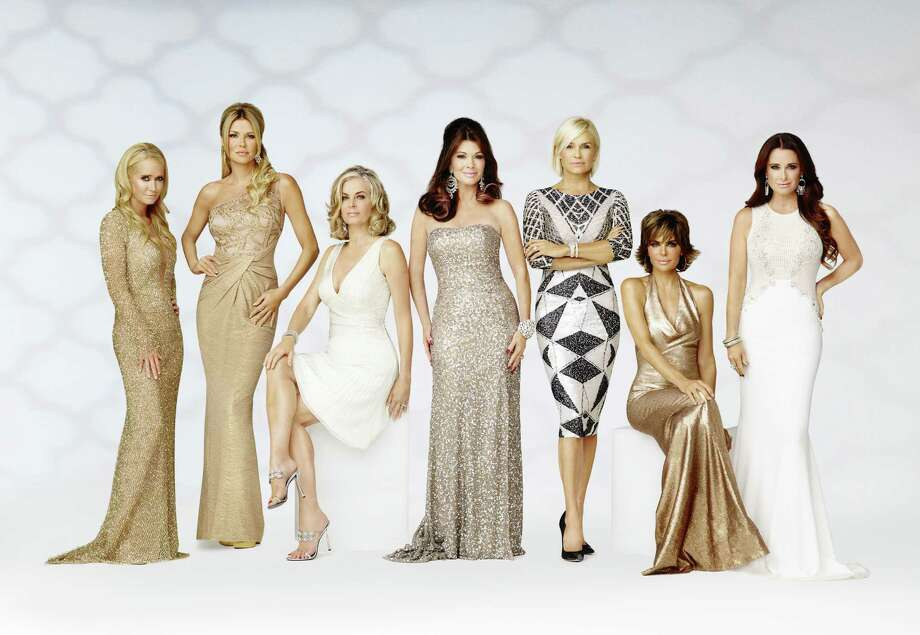"Cities with the most housewivesAbove: Cast of ""The Real Housewives of Beverly Hills: Season 5"" include (l-r) Kim Richards, Brandi Glanville, Eileen Davidson, Lisa Vanderpump, Yolanda H. Foster, Lisa Rinna and Kyle Richards. Photo: Bravo, Getty Images / 2014 Bravo Media, LLC"