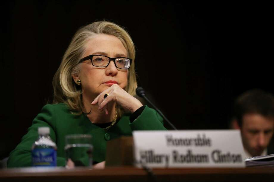 Hillary Clinton before the Senate Foreign Relations Committee on Capitol Hill on Jan. 23, 2013. As a Russian atomic energy agency gradually took charge of Uranium One, a stream of cash made its way to former President Bill Clinton's charitable organization. Photo: Douf Mills /New York Times / NYTNS
