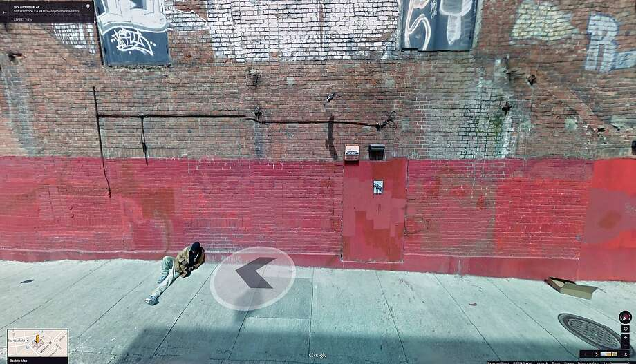 "Local duo COLL.EO shows ""A New American Dream,"" a 2014 set of framed digital prins of images from Google Street View. Photo: Courtesy Of The Artist"