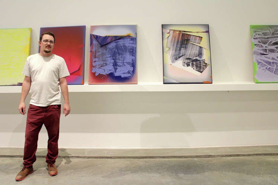 "Hungarian artist Marton Nemes will be visiting Bridgeport for six weeks as part of  an ""EAST meets WESTport"" residency program coordinated by Quinnipiac University, in Hamden, and the Westport Arts Center. Photo: Contributed Photo / Connecticut Post Contributed"
