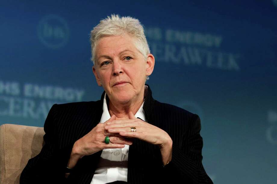 "The plan to reduce climate-altering pollution ""does not seek to swim against the current. It's wind in our sails,"" said Gina McCarthy, the EPA's administrator, pointing out that many companies already have invested billions of dollars to use energy more efficiently. Photo: F. Carter Smith /Bloomberg News / © 2015 Bloomberg Finance LP"