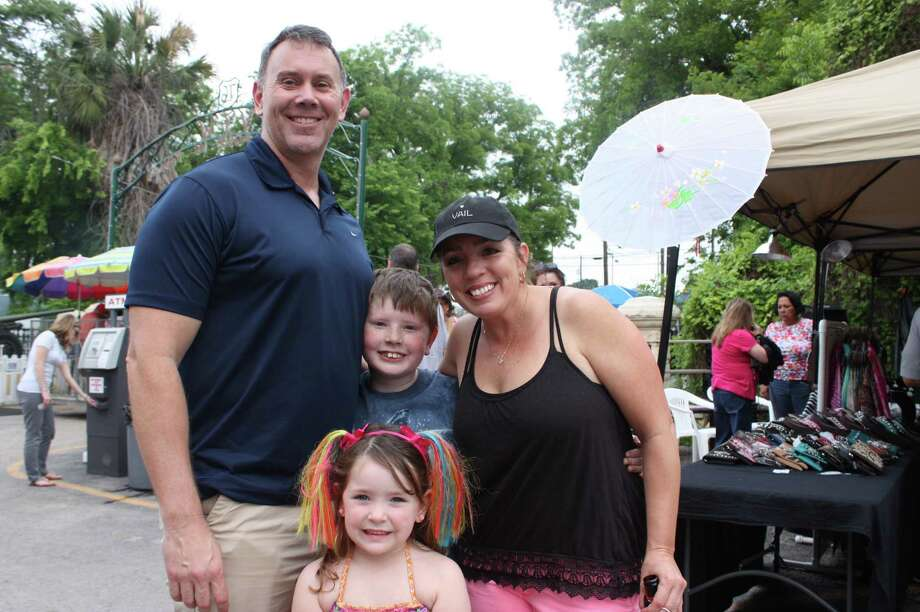 MySpy caught these folks enjoying the 10th Street River Festival at the VFW Post 76 on Thursday, April 23. Live music was the focus of this gathering on the historic grounds surrounding the VFW's meeting center. Photo: Libby Castillo