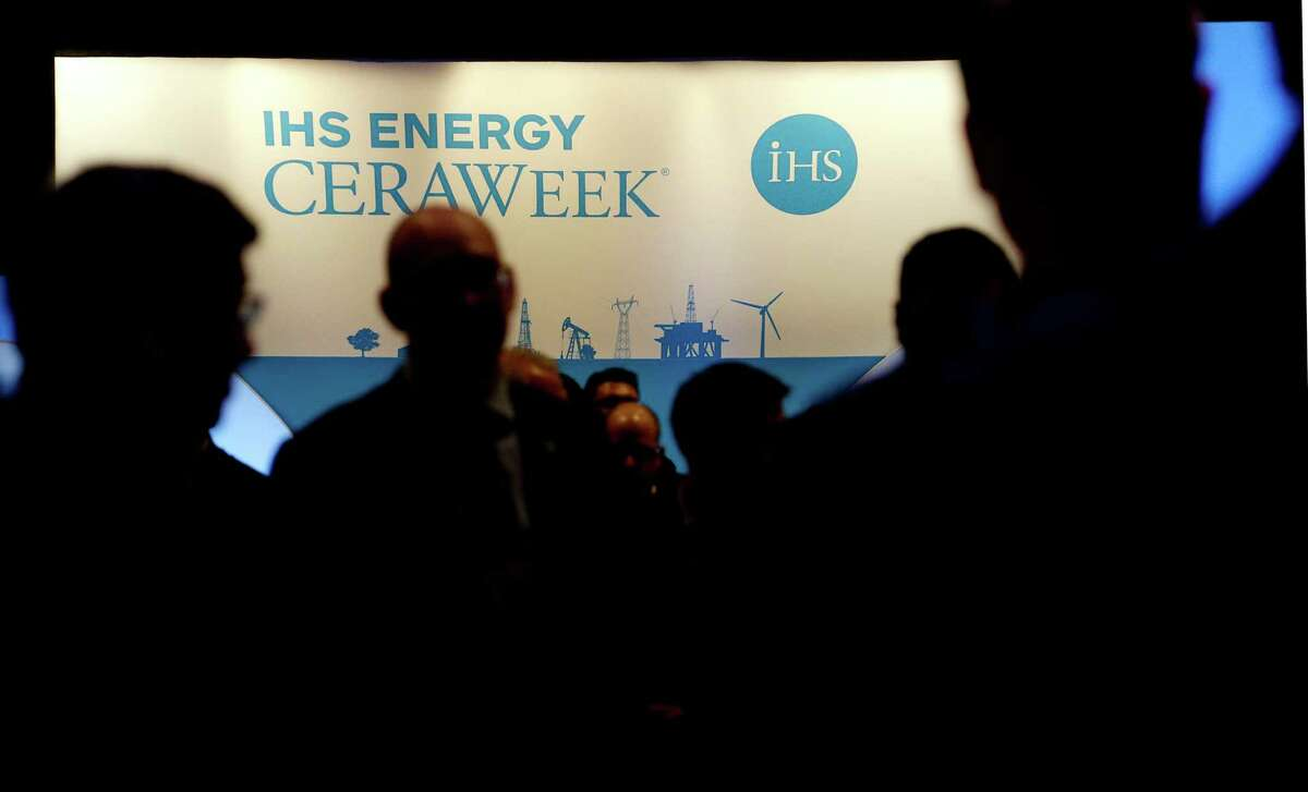 The IHS Energy CERAWeek conference concludes Friday at the Hilton Americas-Houston. (Billy Smith II / Houston Chronicle)
