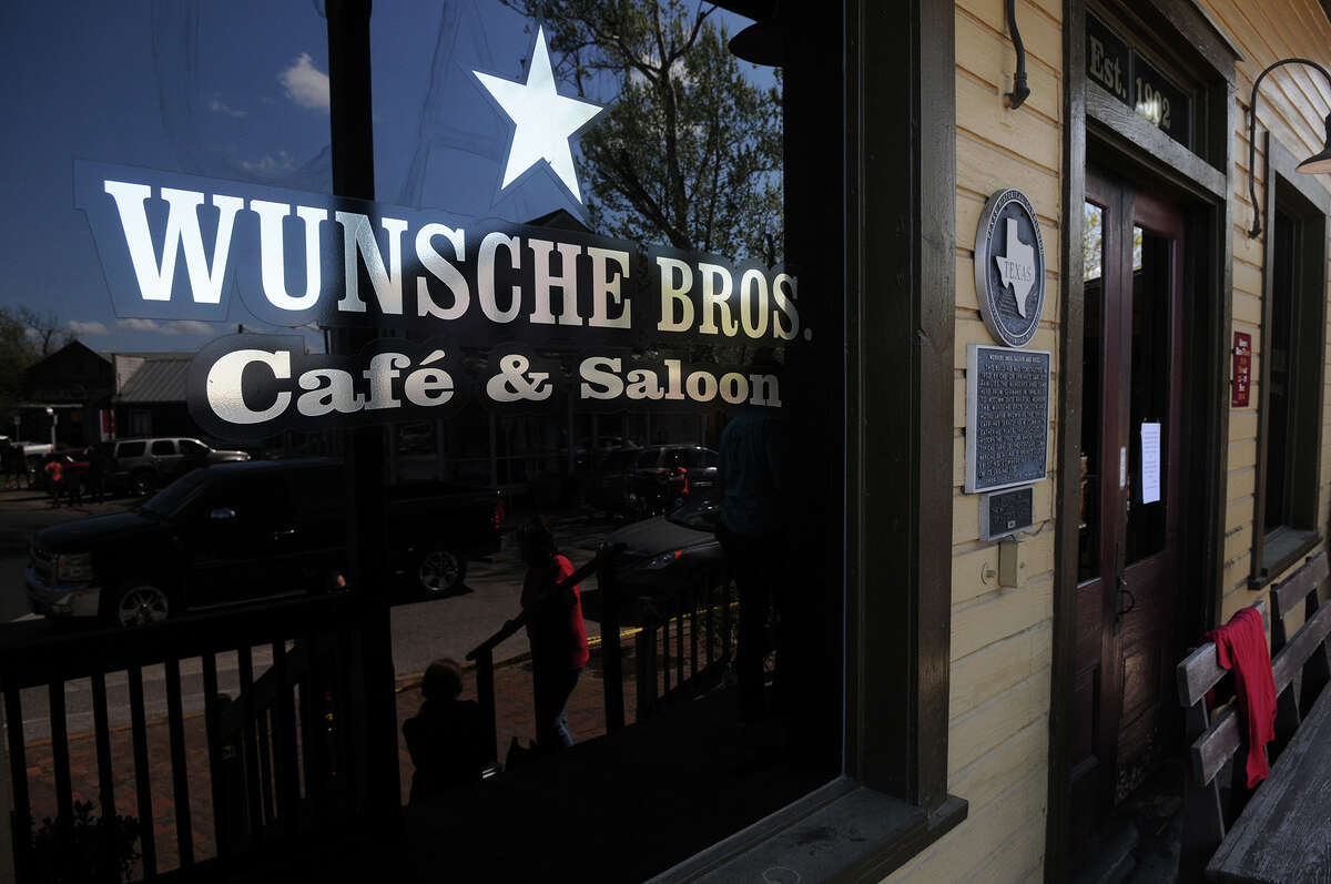 The historic Wunsche Bros. Cafe and Saloon in Old Town Spring, which is over a 100 years old, received extensive damage by fire early Sunday morning.