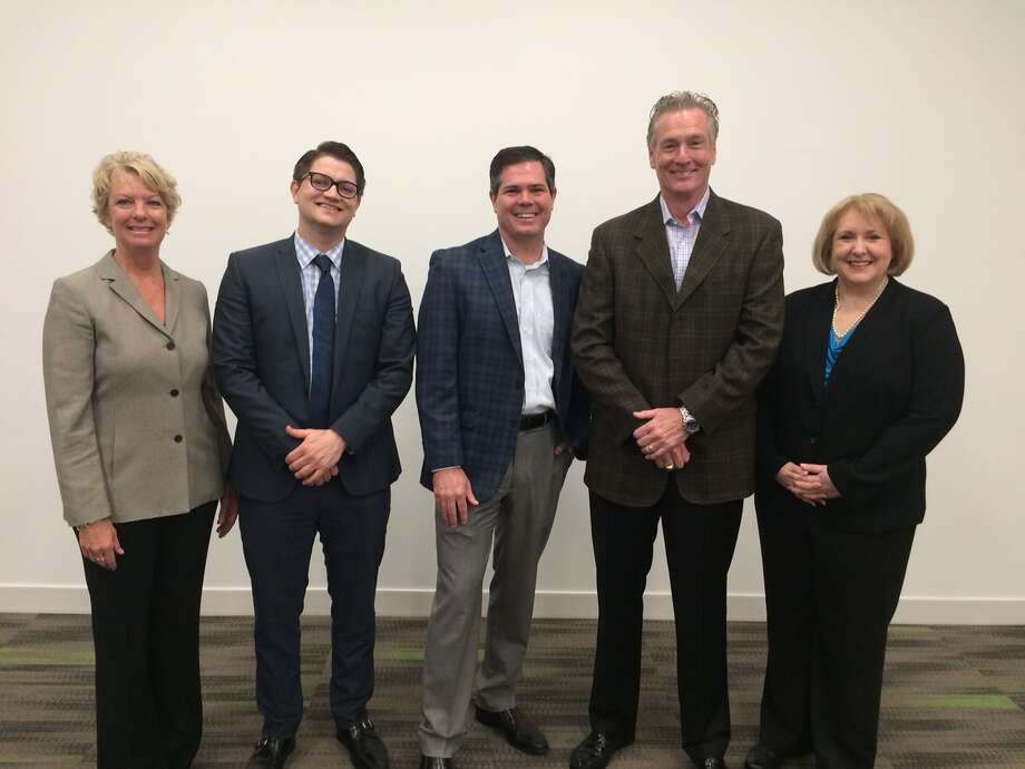At the seminars were left to right: Dayna McElreath, Brandon Collins, Mike McFarland, Bill Dawley and Dawn Lewallen.