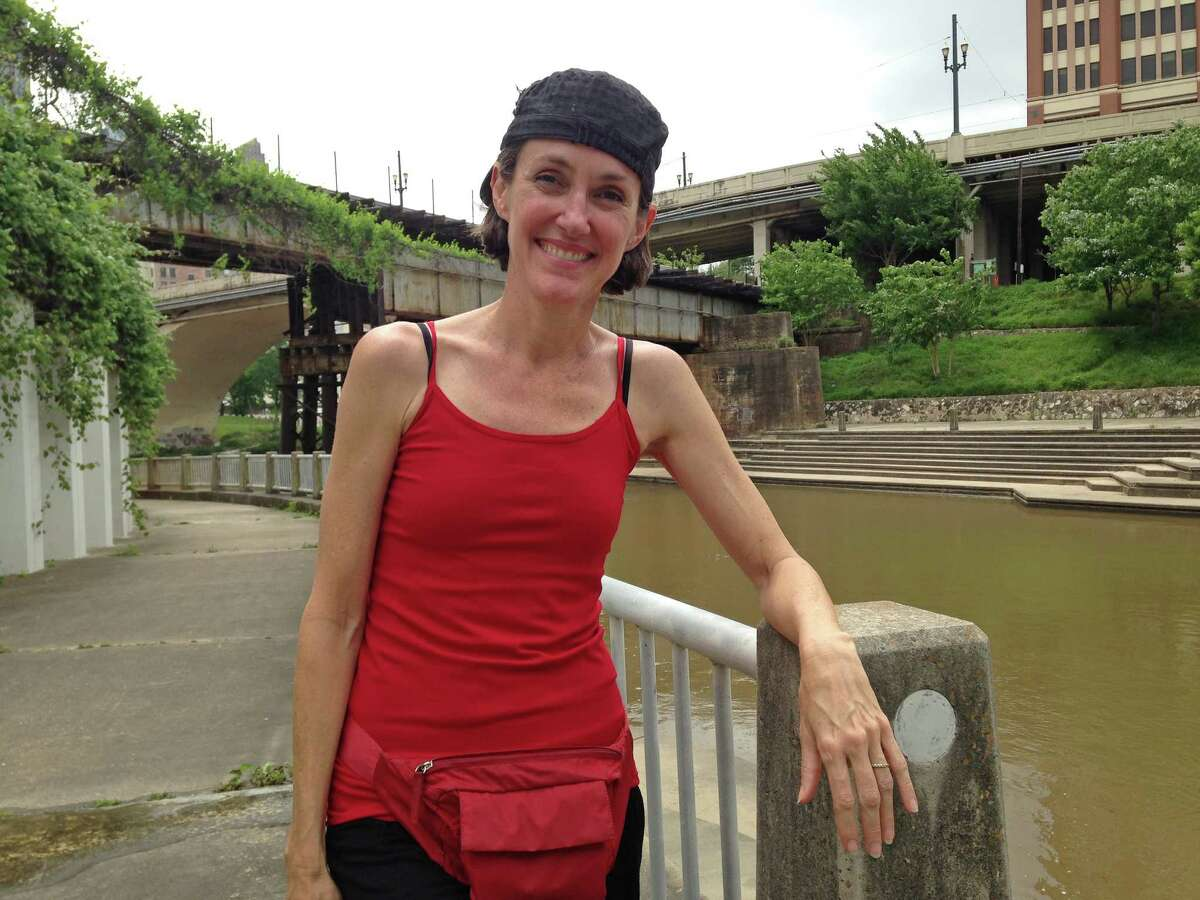"""Choreographer Karen Stokes is collaborating with students at the University of Houston on """"Backstage at Allen's Landing,"""" a site-specific performance that features elements of dance and art."""