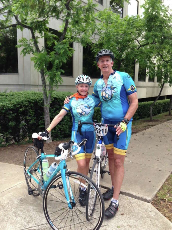 Bernstein Realty's Cathy Derrick and her husband Rob were personally inspired to raise funds for the MS 150 trek.