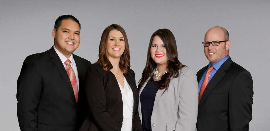 The relocation team includes, from left, Leon Ortiz, Relocation Coordinator; Tess Chaney, CRP Relocation Director; Jennifer Dent, Lead Relocation Coordinator; and Clay Crawford, Relocation Coordinator.