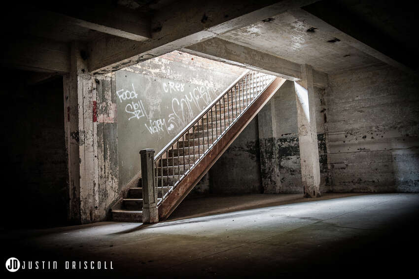 PhotographerJustin Driscollcaptured scenes from the abandoned Birdsong Peanut Factory before its redevelopment into lofts.