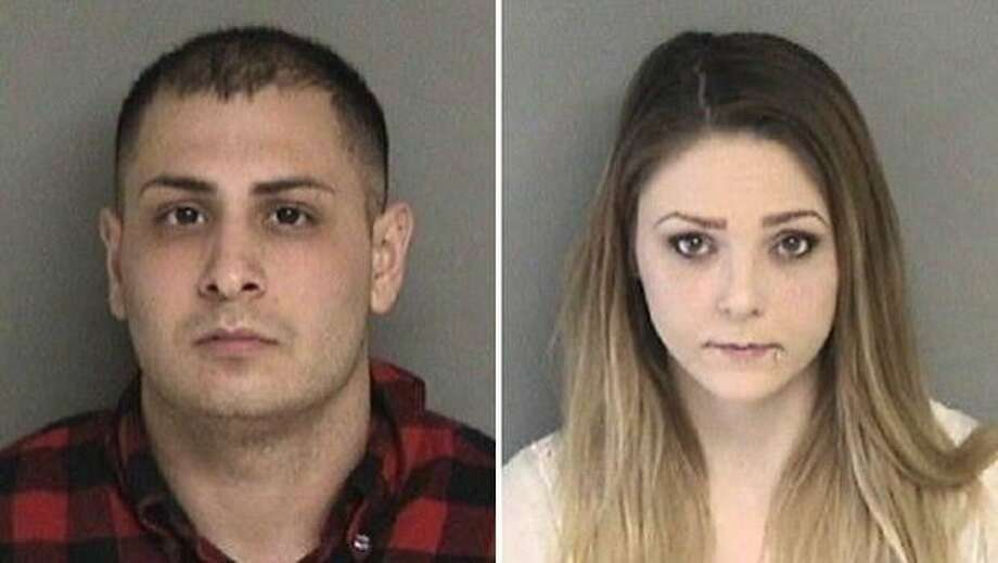 Alexander Nejat and Katherine Stump allegedly robbed robbed a man who had responded to Stump's online ad, Santa Clara County sheriff's investigators say. Photo: Santa Clara Sheriff