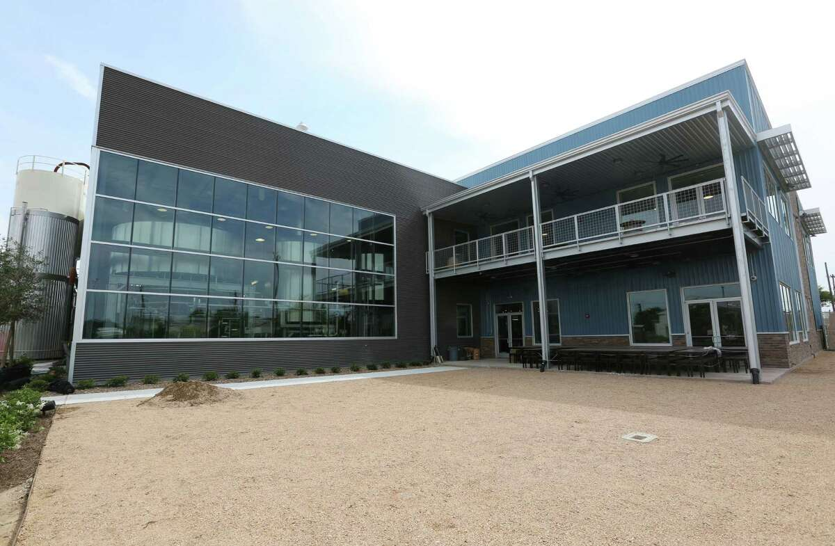 The new Karbach Brewing Co. brewery