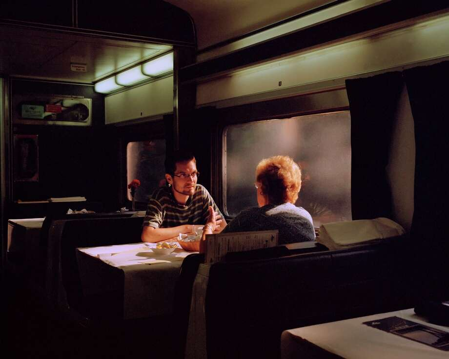 "McNair Evans is covering every Amtrak passenger line, photographing travelers for his series ""In Search of Great Men."" Photo: McNair Evans / McNair Evans / ONLINE_YES"