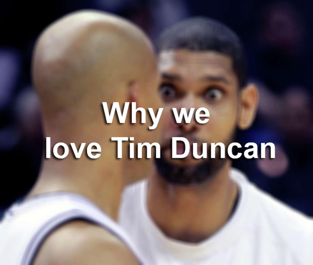 Why we love Tim Duncan