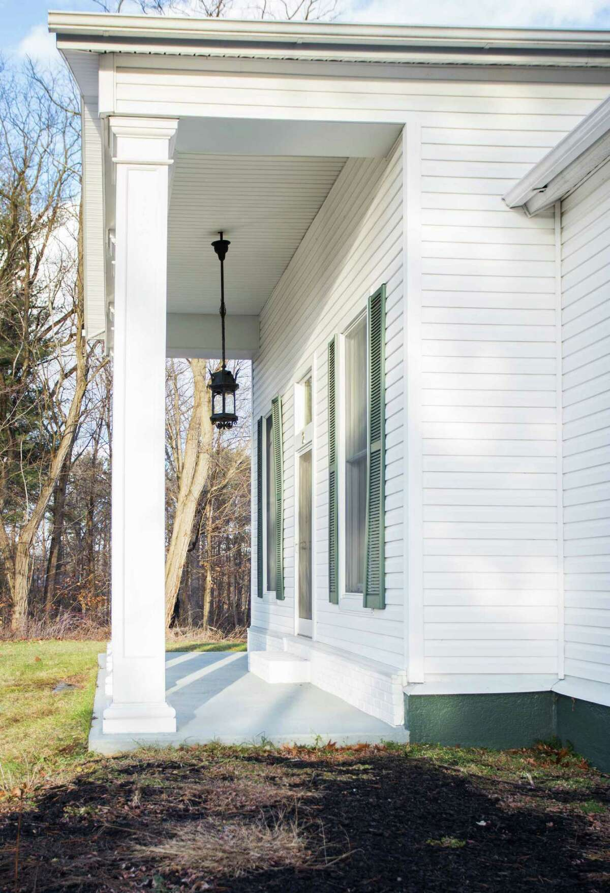 A side view of the porch on 2 Creek Bend, Stillwater. (Linda Cusma, Select Sotheby's International Realty)