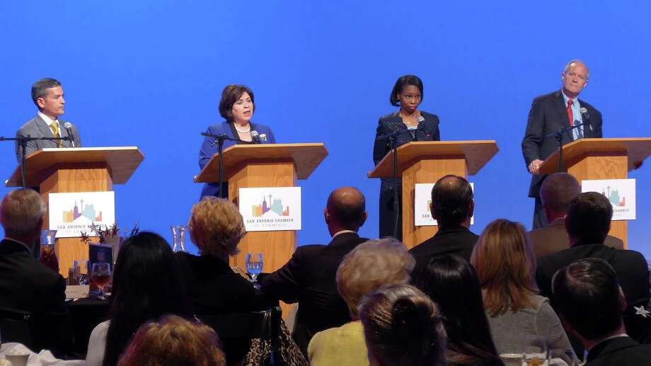 The first round of the mayoral race featured plenty of forums, but the discussions lacked adequate specifics. Leticia Van de Putte and Ivy Taylor should be more precise in the runoff. Photo: /John W. Gonzalez / San Antonio Express-News