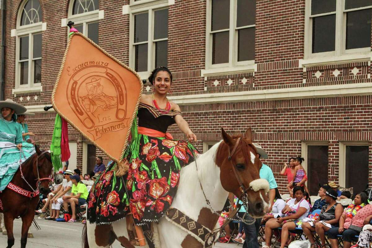 Tens of thousands of people came to downtown San Antonio Friday to partake in Fiesta's Battle of Flowers Parade.