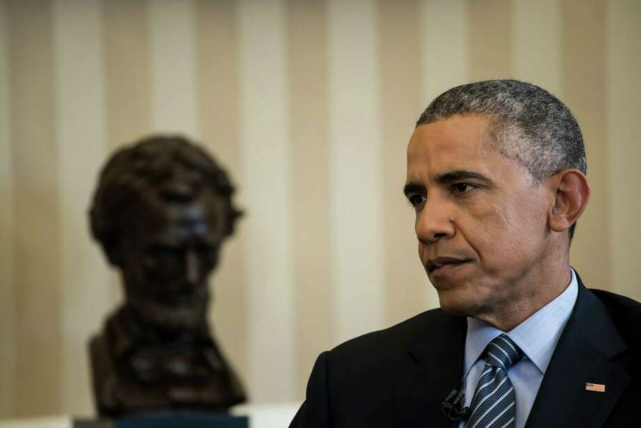 President Barack Obama says the deal with Iran is the best way to block that nation's attempt to build a nuclear weapon and avoid another Middle East war. Photo: TODD HEISLER /New York Times / NYTNS