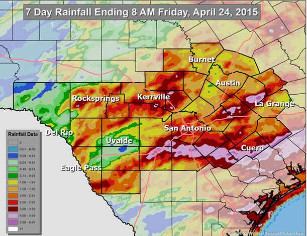San Antonio Weather on KENS5 in San Antonio