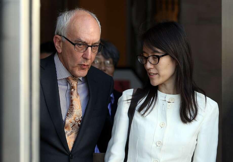 Ellen Pao plans to appeal her gender discrimination suit against Kleiner Perkins. Photo: Justin Sullivan, Getty Images