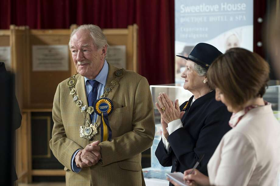 "Michael Gambon stars in ""The Casual Vacancy."" Photo: Steffan Hill"