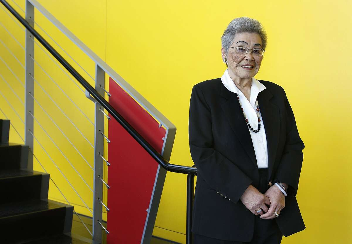 Agnes Chan is a 90-year old San Francisco native and former schoolteacher and for several years she's been an usher at the Yerba Buena Center for the Arts, first as a volunteer and now as a paid staffer on August 7, 2009.