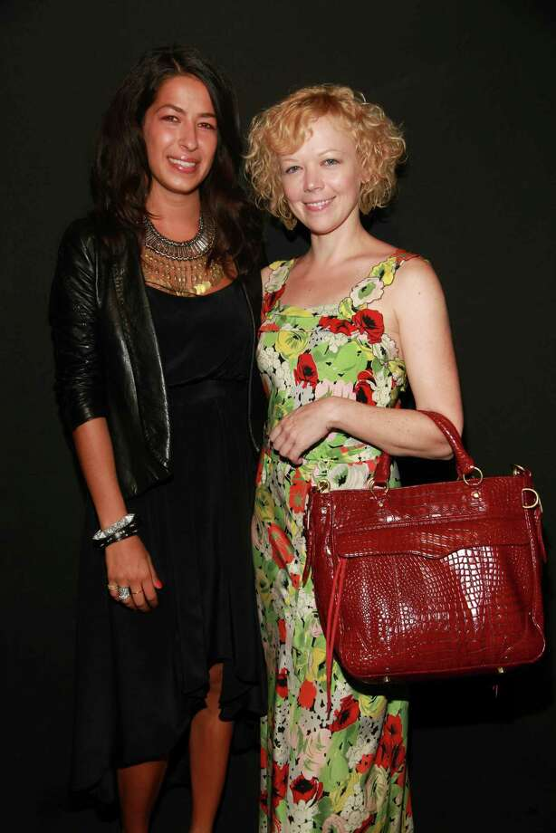 NEW YORK - SEPTEMBER 12:  Designer Rebecca Minkoff (L) and actress Emily Bergl attend the Rebecca Minkoff at MBFW Spring 2011 fashion show  at The Box at Lincoln Center on September 12, 2010 in New York City.  (Photo by Astrid Stawiarz/Getty Images for Rebecca Minkoff) Photo: Astrid Stawiarz / 2010 Getty Images