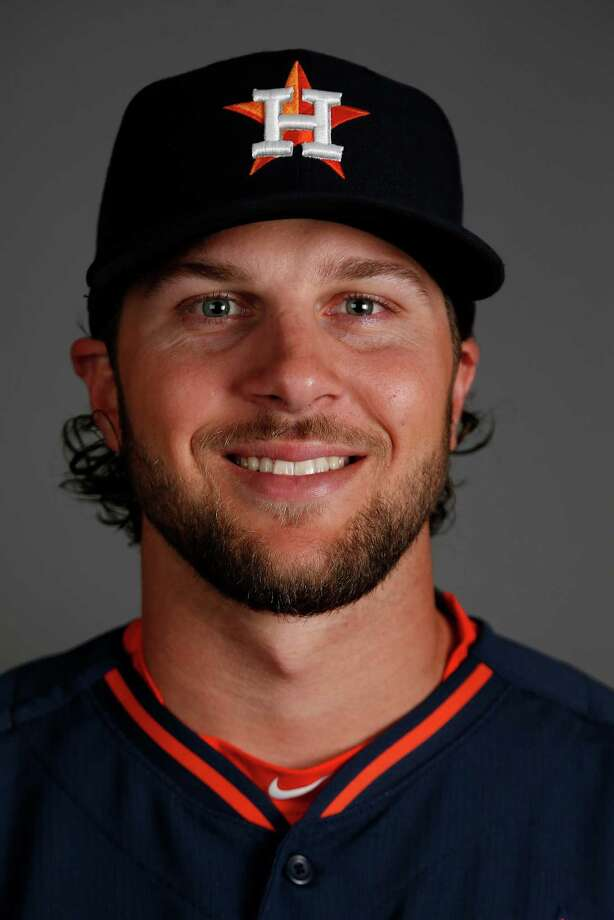 Houston Astros right fielder Jake Marisnick photographed during Houston Astros spring training at the Osceola County facility, Thursday, Feb. 26, 2015, in Kissimmee. ( Karen Warren / Houston Chronicle  ) Photo: Karen Warren, Staff / © 2015 Houston Chronicle