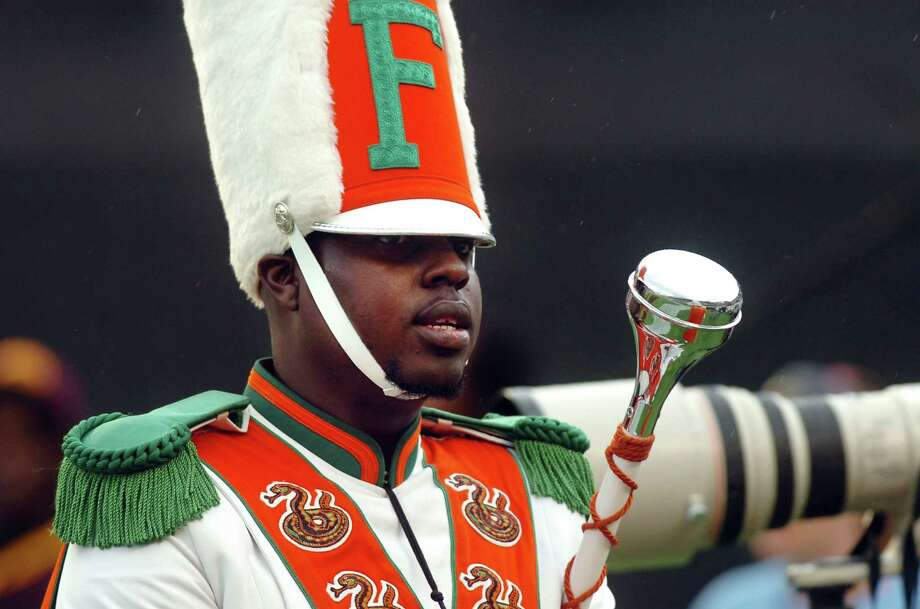 Florida A&M University drum major Robert Champion died after being kicked, punched and hit aboard a parked bus. Photo: Joseph Brown III /Tampa Tribune / The Tampa Tribune