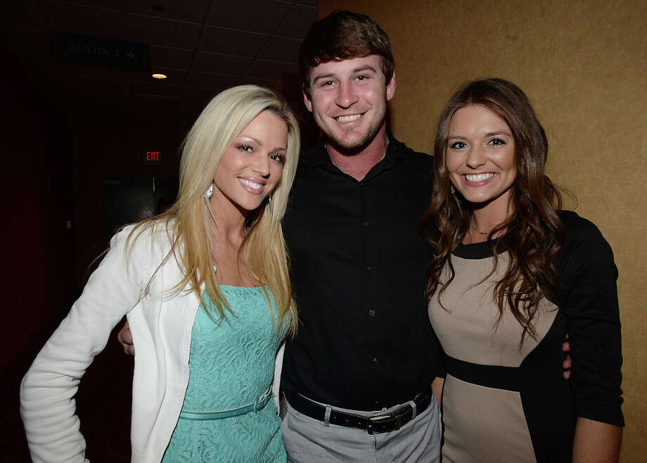 Marissa Gerik, Tanner West, and Kaley Pennington attended the annual Stars of the Arc Celebrity Style Show and Dinner on Friday, April 24 at the Holiday Inn & Suites Beaumont Plaza. 2015 is the 10-year anniversary of ARC's service to individuals with intellectual and developmental disabilities in Southeast Texas. Friday's event featured a fashion show, with outfits provided by Macy's, and modeled by ARC clients of all ages. Photo taken Friday, April 24, 2015 Kim Brent/The Enterprise Photo: Kim Brent / Beaumont Enterprise