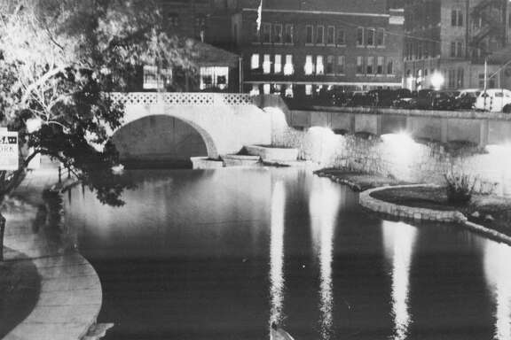 The River Walk is shown in this circa 1940 photo.
