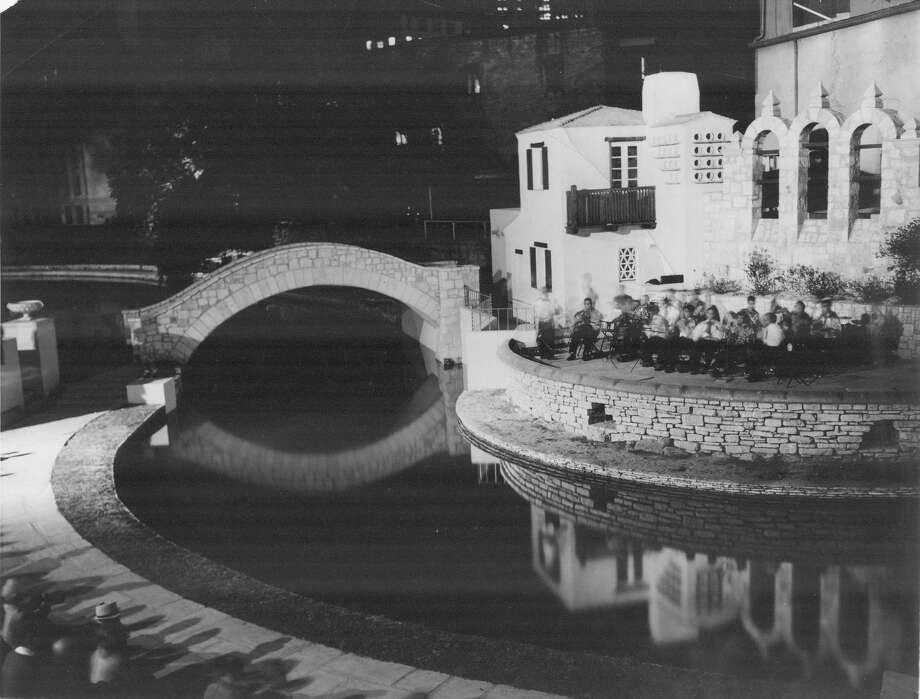 The Arneson River Theatre was completed in 1939 and since then has been used to stage events like the St. Patrick's Day celebration, Fiesta Noche del Rio and Las Posadas. The five bells in the arches that herald the stage represent the five missions of San Antonio. Photo: Express-News File Photo / San Antonio Express-News