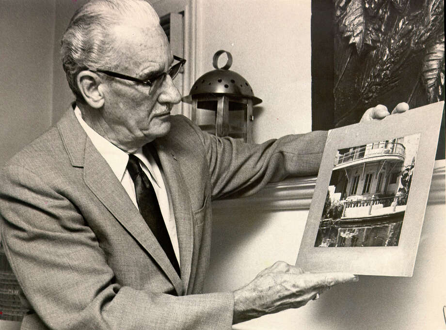 Architect, Robert H. H. Hugman, is the designer and architect of the San Antonio River Walk. Photo: EXPRESS-NEWS FILE PHOTO / EXPRESS-NEWS FILE PHOTO
